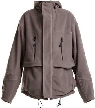 Martine Rose Oversized fleece jacket