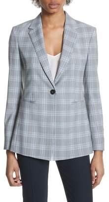 Theory Mapel Wool Power Jacket