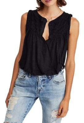 468752b466744d Free People Black Tank Tops For Women - ShopStyle Canada
