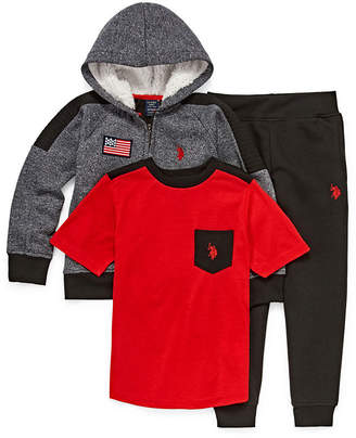 U.S. Polo Assn. USPA 3-pc. Pant Set Boys