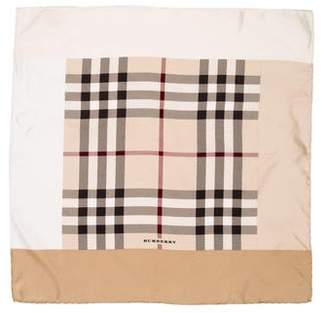 Burberry Silk Nova Check Scarf