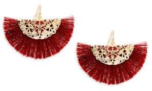 Panacea Fringe Hoop Earrings