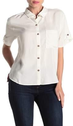 ALL IN FAVOR Short Sleeve Button Down Shirt