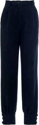 Miu Miu High-Waisted Cinched Ankle Pants Size: 36