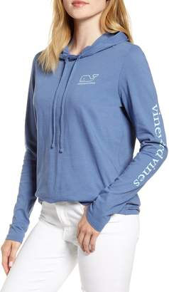 Vineyard Vines Whale Slub Hooded Tee