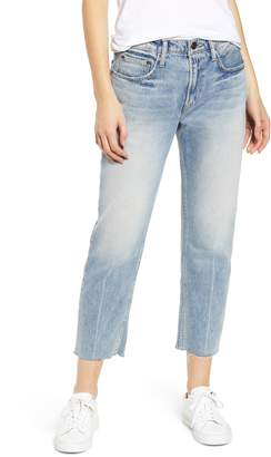 Current/Elliott The His Raw Hem Boyfriend Jeans