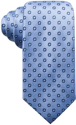 Club Room Men's Sterling Classic Floral Silk Tie