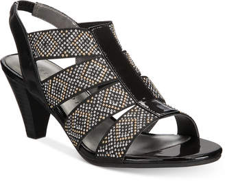 Karen Scott Nicolle Slingback Sandals, Created for Macy's Women's Shoes