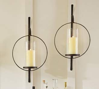 Pottery Barn Circular Wall-Mount Sconce
