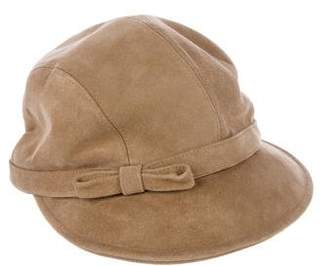 Eric Javits Suede Drivers Hat
