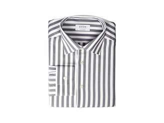 Eton Contemporary Fit Bold Stripe Button Down Shirt