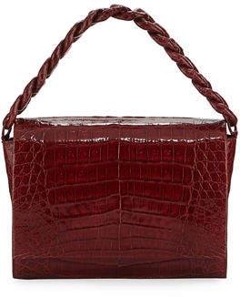 Nancy Gonzalez Carrie Crocodile Clutch Bag