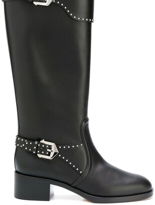 Givenchy studded riding boots