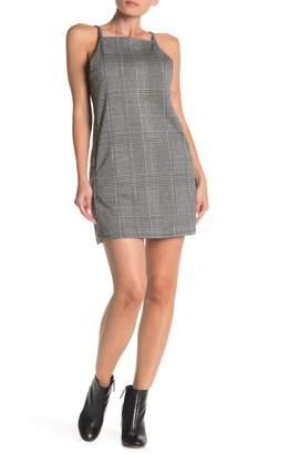 BB Dakota Check Yourself Mini Checkered Dress