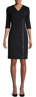HUGO BOSS Deazema Jersey Twill Dress
