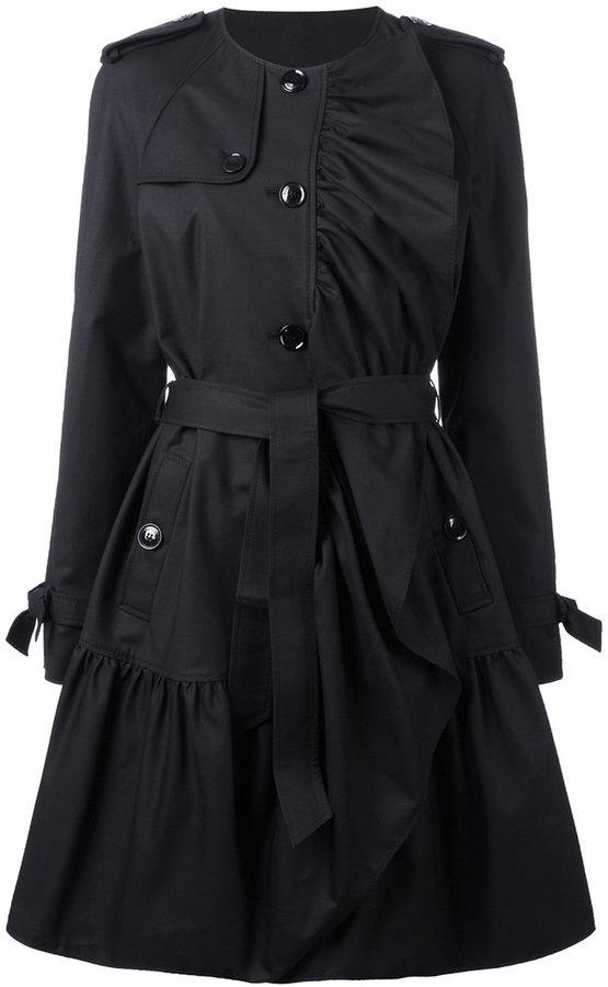 MoschinoBoutique Moschino pleated trench coat
