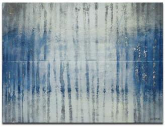 "Ready2hangart 'Glass Dew' Abstract Canvas Wall Art, 20x30"""