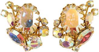 One Kings Lane Vintage 1960s Juliana Aurora Borealis Earrings