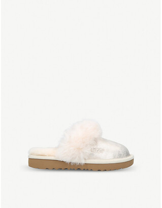 57fc7705280 Kids Sheepskin Slippers - ShopStyle UK