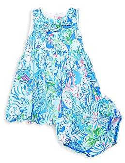 8d63cfd1e74049 Lilly Pulitzer Baby Girl's Dress & Bloomers Set