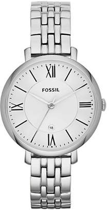 Fossil Jacqueline Three Hand Stainless Steel Watch