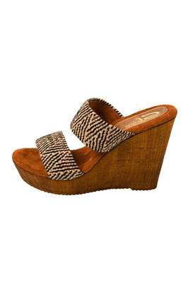 Sbicca Vintage Collection Double Strap Wedge