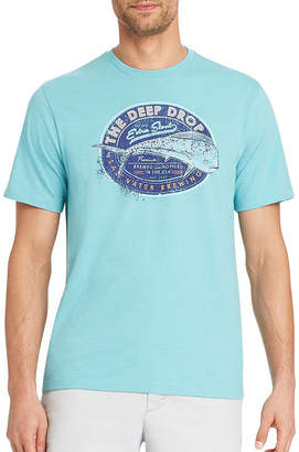 Izod Saltwater Short Sleeve Graphic T-Shirt