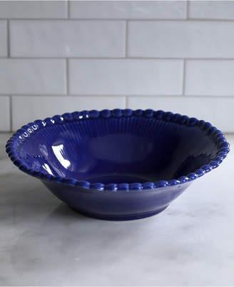 EuroCeramica Sarar Cobalt Pasta Bowl