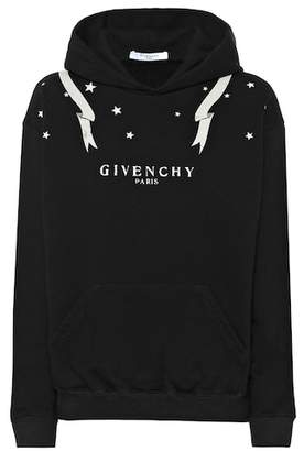 Givenchy Logo-printed cotton hoodie