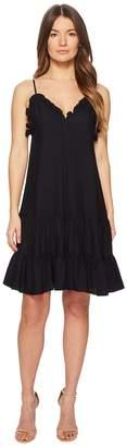 Rebecca Taylor Sleeveless Silk Slip Dress Women's Dress