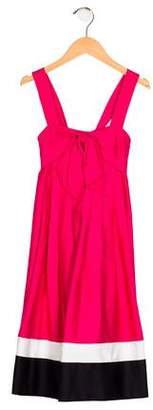 Helena Girls' Sleeveless Pleated Dress w/ Tags