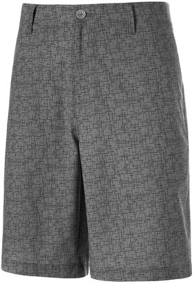 Greg Norman for Tasso Elba Grid-Pattern Golf Shorts, Only at Macy's $55 thestylecure.com