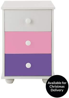 Kidspace New Metro 3-Drawer Bedside Cabinet
