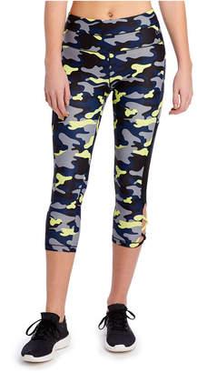 2xist Fashion Capri Lace Up Legging