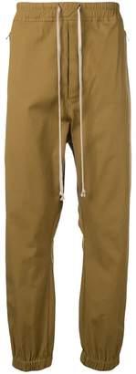 Rick Owens elasticated waistband chinos