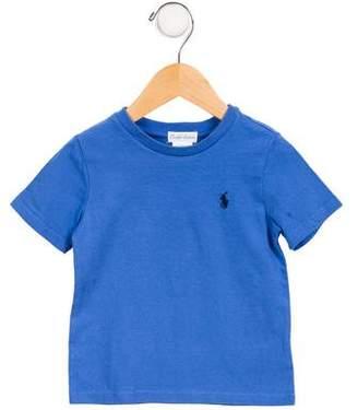 Ralph Lauren Boys' Knit Short Sleeve Shirt