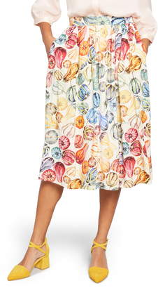ModCloth Match Made Midi Skirt