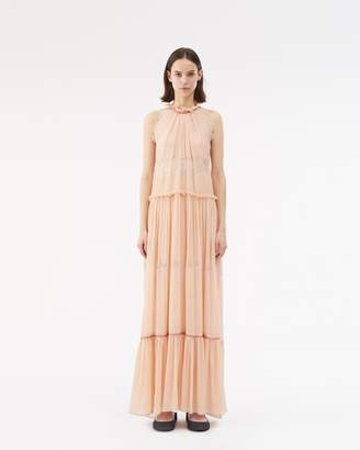 3.1 Phillip Lim Sleeveless Lace Gown