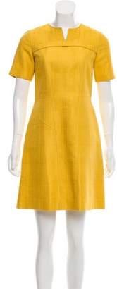 Derek Lam Short Sleeve Knee-Length Dress