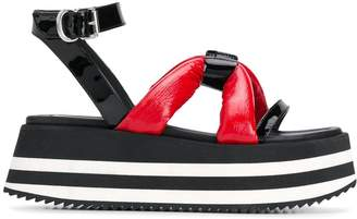 McQ platform sandals