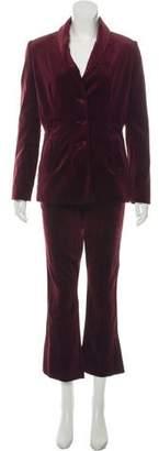 Frame Velvet Pantsuit Set