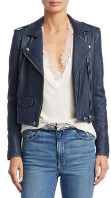 IRO Ashville Leather Moto Jacket