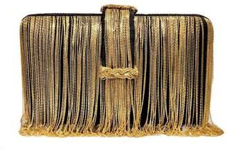 Simitri - Black & Gold Braided Belt Chunky
