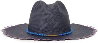 Yosuzi Luna Tasseled Woven Toquilla Straw Panama Hat