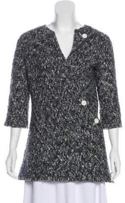 Celine Asymmetrical Short Sleeve Jacket