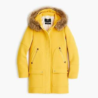 J.Crew Tall chateau parka in Italian stadium-cloth wool