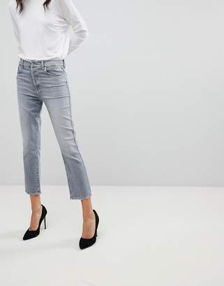 7 For All Mankind Edie High Waist Slim Jeans