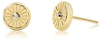 Lumina Edge of Ember Stud Earrings