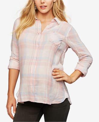 Rails Maternity Plaid Shirt