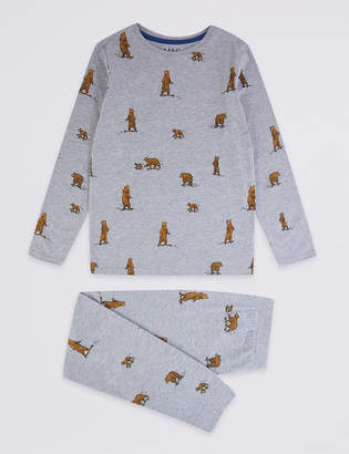 Marks and Spencer Pure Cotton Bear Pyjamas (1-16 Years)